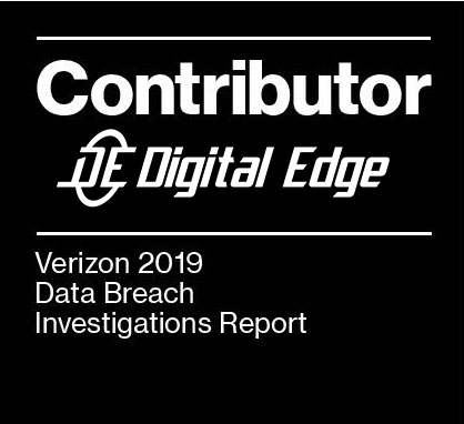 Digital Edge's Verizon Data Breach Report Contributor 3 Years in a Row